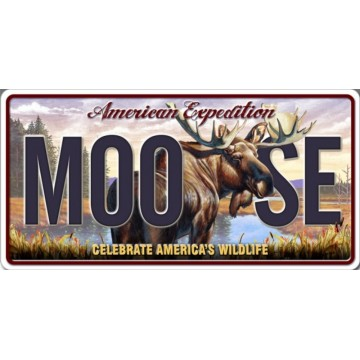 American Expedition MOO SE Photo License Plate