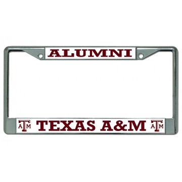 Texas A&M Aggies Alumni Photo License Plate Frame