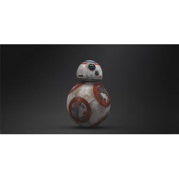 BB-8 Star Wars Photo License Plate