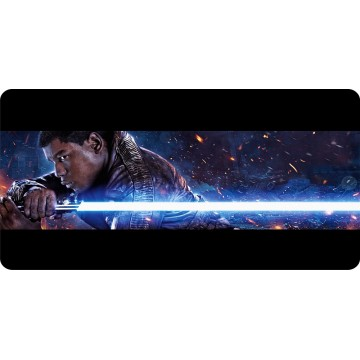 Finn Star Wars Photo License Plate