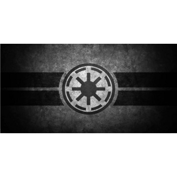Galactic Empire Star Wars Photo License Plate