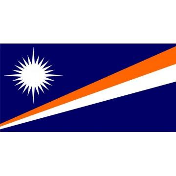 Marshall Islands Flag Photo License Plate