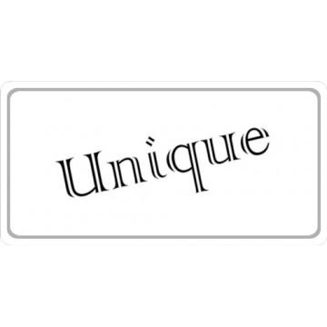 Unique Photo License Plate