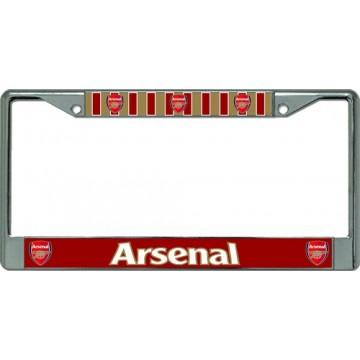Arsenal Football Club Chrome License Plate Frame