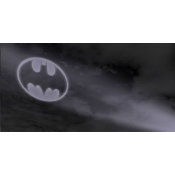 Batman Symbol In Sky Photo License Plate