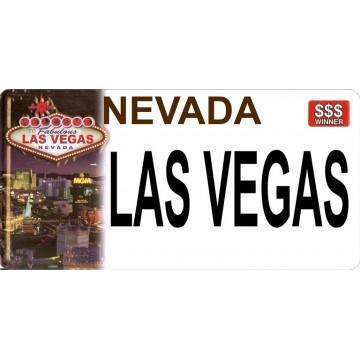 Nevada Las Vegas Photo License Plate