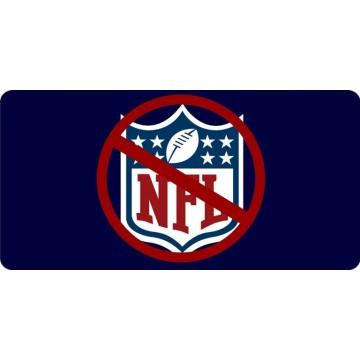 Boycott NFL Photo License Plate