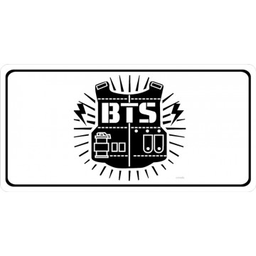 Bangtan Boys Band Photo License Plate