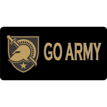 Go Army Photo License Plate