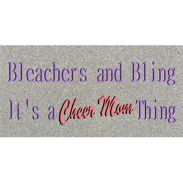 Cheer Mom #2 Photo License Plate