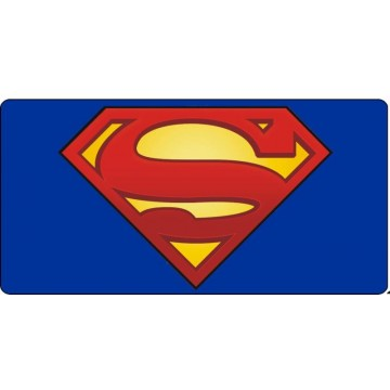 Superman Logo #2 Photo License Plate