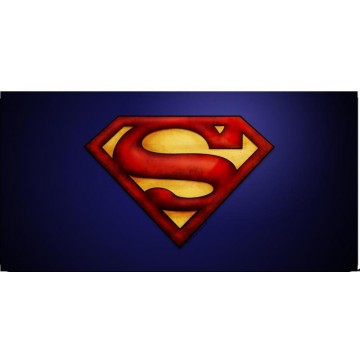 Superman Logo #4 Photo License Plate