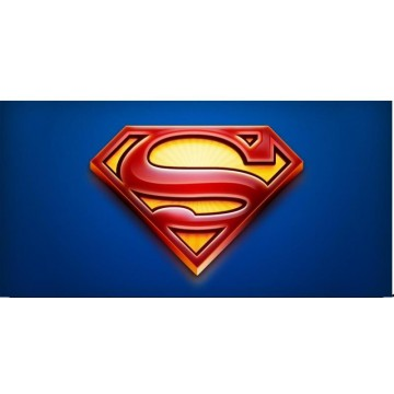 Superman Logo #5 Photo License Plate