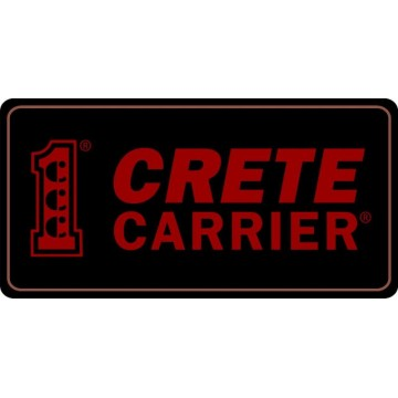 Crete Carrier Photo License Plate