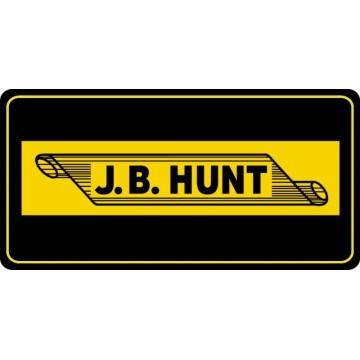 J.B. Hunt Transport Photo License Plate