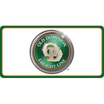 Old Dominion Freight Lines Photo License Plate