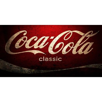 Coca-Cola Classic Photo License Plate