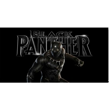 Black Panther #2 Photo License Plate
