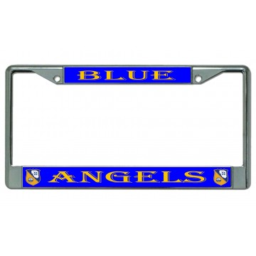 USAF U.S VETERAN Military Metal Motorcycle License Plate Frame Tag