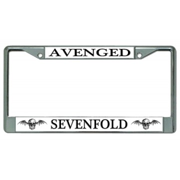 Avenged Sevenfold #2 Chrome License Plate Frame