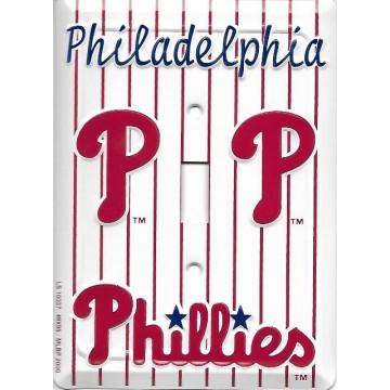 Philadelphia Phillies Light Switch Cover