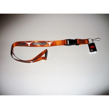 Texas Longhorns  Lanyard With Neck Safety Latch