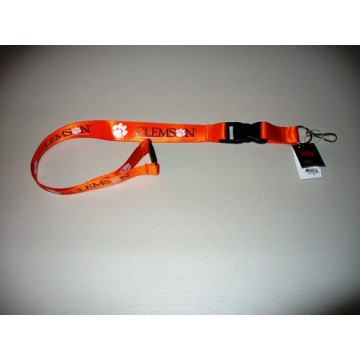 Clemson Tigers Lanyard With Neck Safety Latch