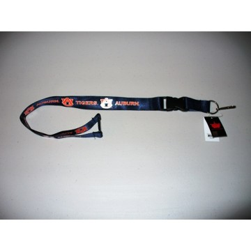 Auburn Tigers Lanyard With Neck Safety Latch
