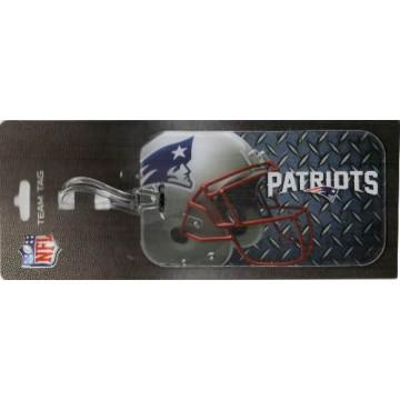 New England Patriots Team Luggage Tag