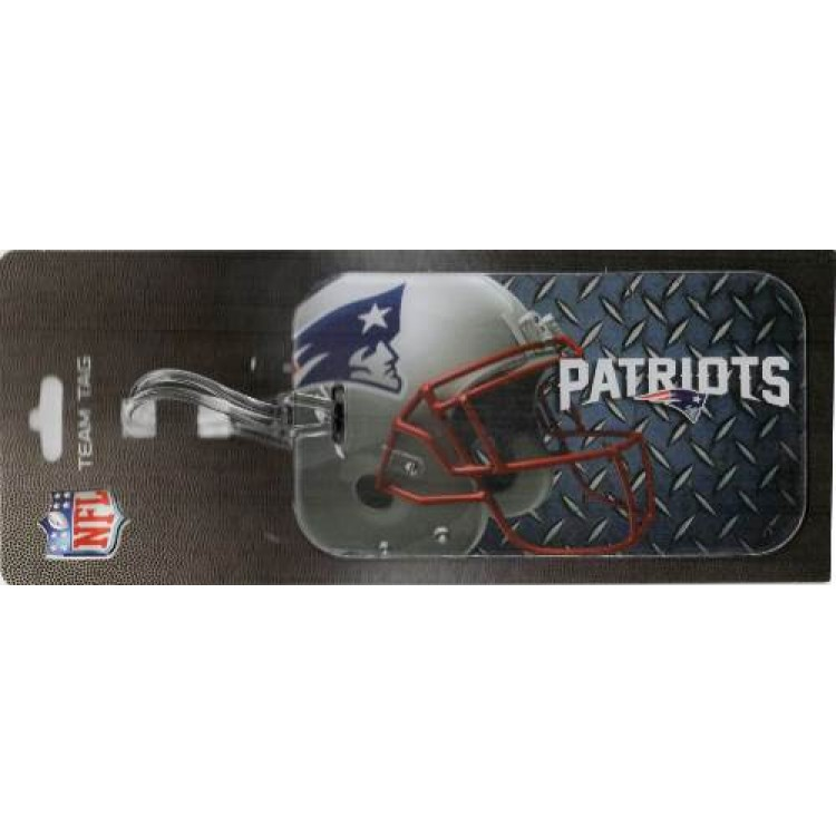 New England Patriots Team Luggage Tag