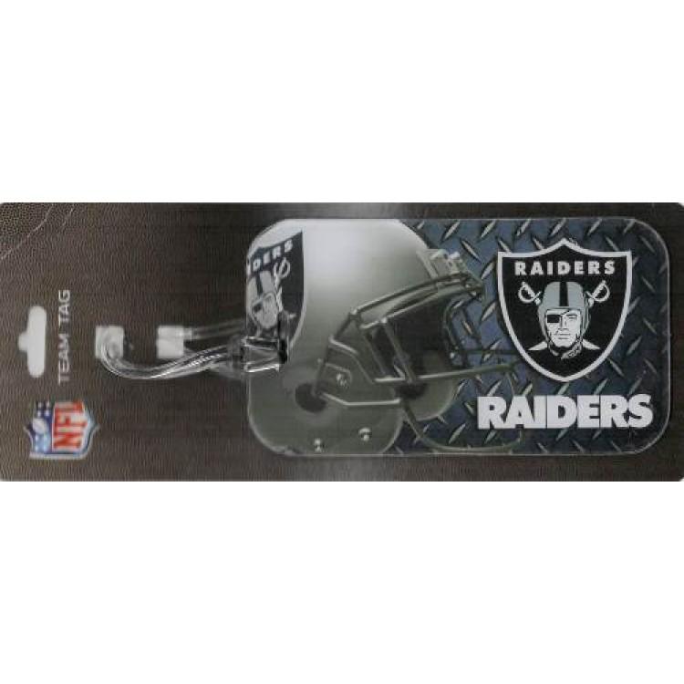 Oakland Raiders Team Luggage Tag