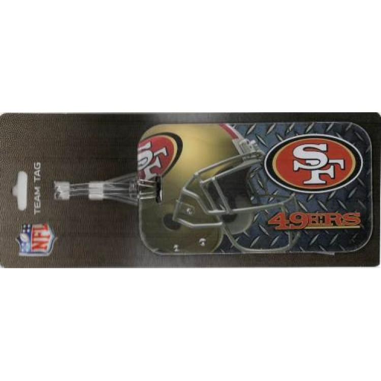 San Francisco 49ers Team Luggage Tag