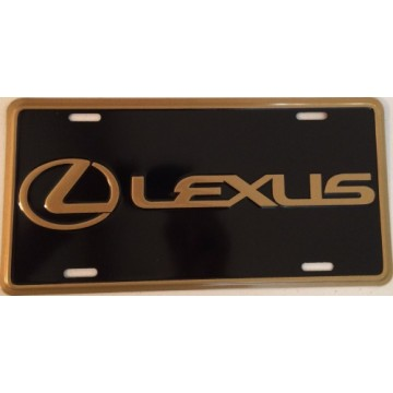 Lexus Metal License Plate