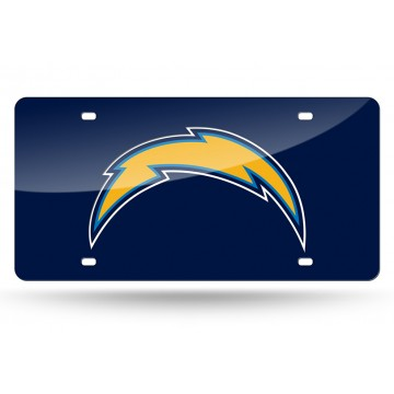 Los Angeles Chargers Laser License Plate