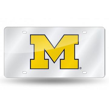 Michigan Wolverines Laser Plate