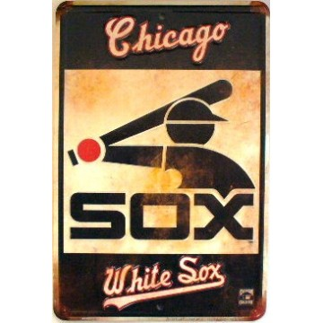 Chicago White Sox Retro Parking Sign