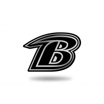 Baltimore Ravens NFL Plastic Auto Emblem