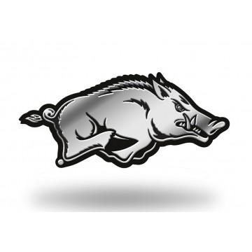 Arkansas Razorbacks NCAA Plastic Auto Emblem