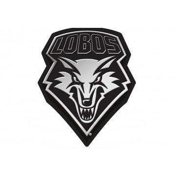 New Mexico Lobos NCAA Plastic Auto Emblem