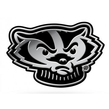 Wisconsin Badgers NCAA Plastic Auto Emblem