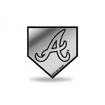 Atlanta Braves MLB Plastic Auto Emblem