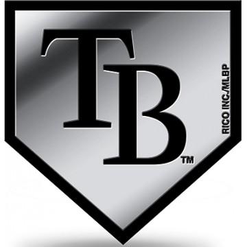 Tampa Bay Rays MLB Plastic Auto Emblem