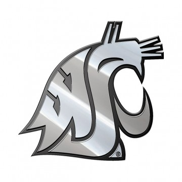 Washington State Cougars NCAA Metal Auto Emblem