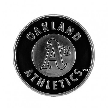 Oakland Athletics MLB Chrome Auto Emblem