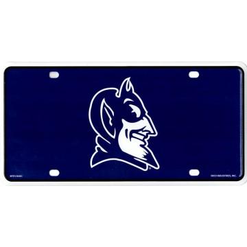 Duke Blue Devils Logo Metal License Plate