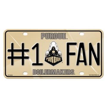 Purdue Boilermakers #1 Fan License Plate