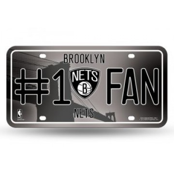 Brooklyn Nets #1 Fan License Plate