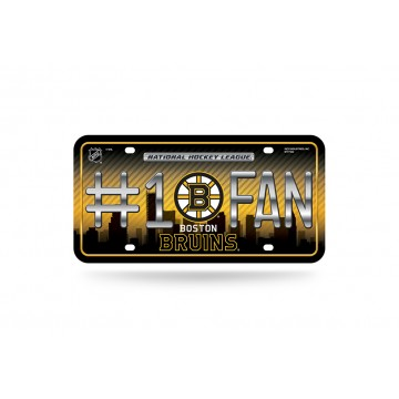 Boston Bruins #1 Fan License Plate