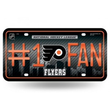 Philadelphia Flyers #1 Fan License Plate