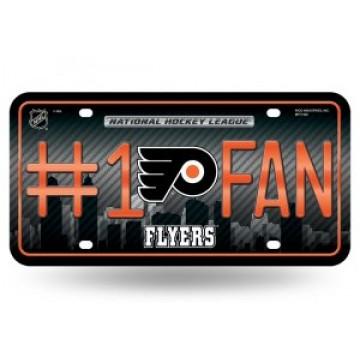 Philadelphia Flyers #1 Fan License Plate